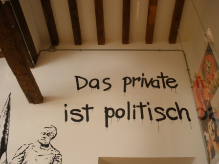 Private is Political, Museum of students, Bologna, November 2012
