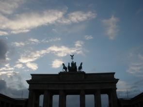 Berlin, Brandenburg Gate, February 2013