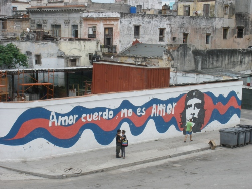 """Love without madness is not love"". Havana, Cuba, June 2012"