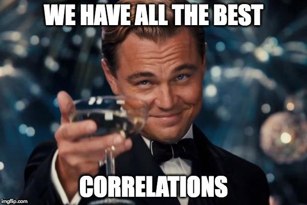 dicapriocorrelations